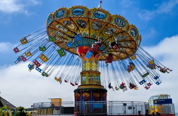Santa Cruz, California, Beach Boardwalk, Amusement Park, rides, Travel Photography, Pacific Coast