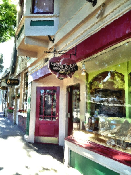 Carmel, California, Carmel by the Sea, Bakery, Carmel Bakery, iphoneography, Snapseed, TangledFx, PhotoToaster, Glaze