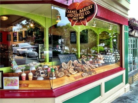 Carmel, California, Carmel by the Sea, Bakery, Carmel Bakery, iphoneography, Snapseed, PhotoToaster