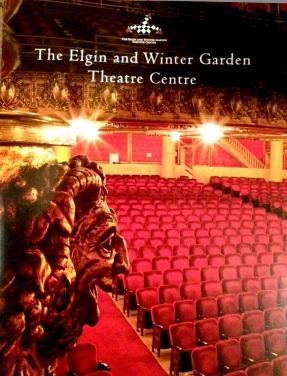 Elgin Theatre, WinterGarden Theatre, 100th Anniversary, Brochure Cover, Edith Levy Photography,