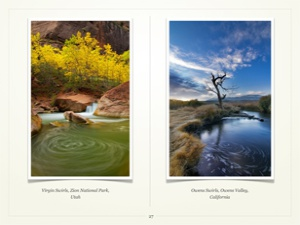 waterfalls, dreamscapes, photographing waterfalls, streams, Justin Reznick, ebook, guide,