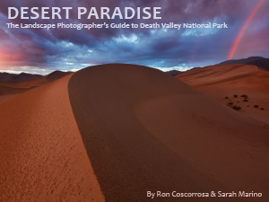 Desert Paradise, landscape photography, Death Valley National Park, Guide, ebook