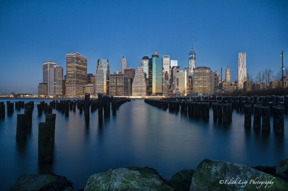 Brooklyn Heights, Manhattan, city view, cityscape, Hudson River, long exposure, golden hour, sunrise, travel photography,