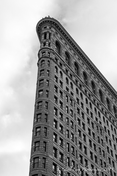 Flatiron, building, Manhattan, New York City, New York, Monochrome, Black and White, Architecture
