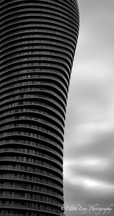 Toronto, architecture, Mississauga, Marilyn Monroe Towers, Absolute Towers, black and white, monochrome