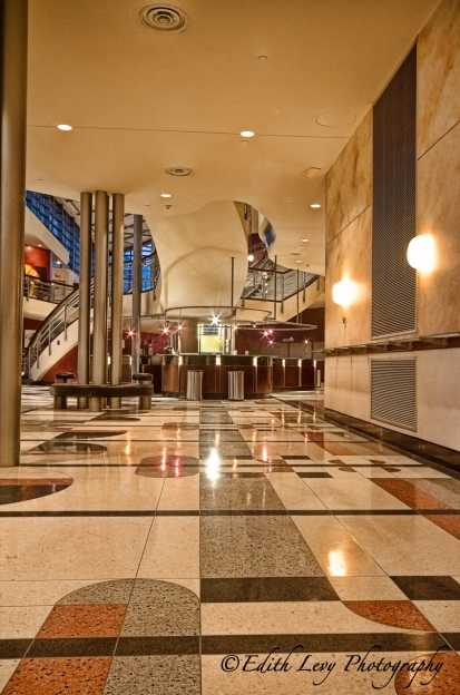 Toronto Centre for the Arts, lobby, interior, Art Deco, North York, North Toronto, Theatre