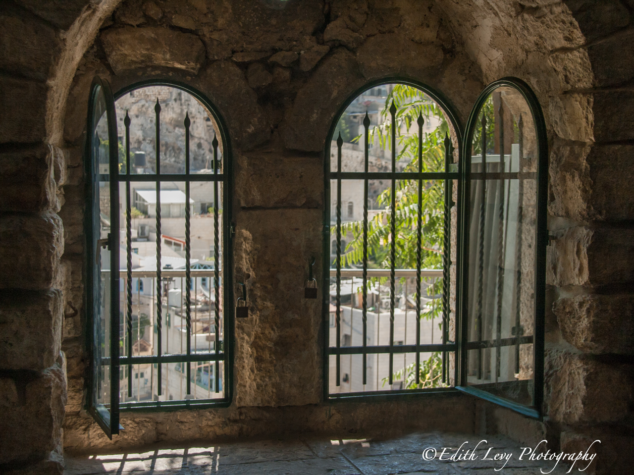 Window To Hezekiah S Tunnel Edith Levy Photography