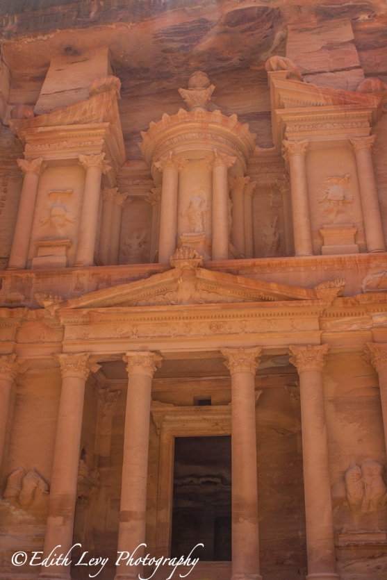 Petra, Jordan, The Treasury, monument, travel