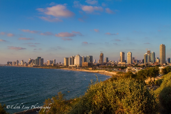 Tel Aviv, Israel, sunset, Mediterranean, sea, coastline, travel photography, Old Jaffa