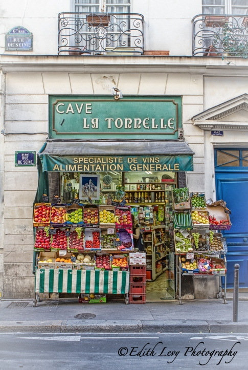 Paris, France, street, store, general store, fruit store, vegetable store, travel photography