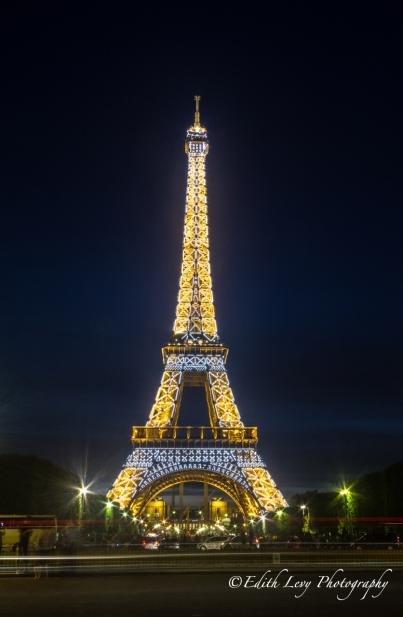 Eiffel Tower, Paris, France, lights, city of lights, long exposure, travel photography