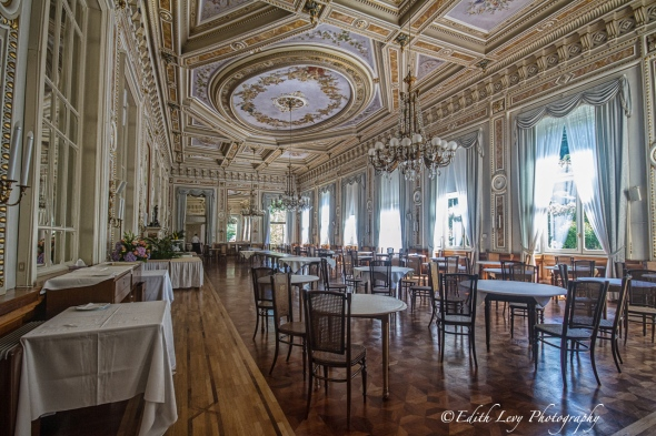 Villa Serbelloni, Bellagio, Lake Como, Italy, hotel, grand hotel, lake view, travel photography, dining room