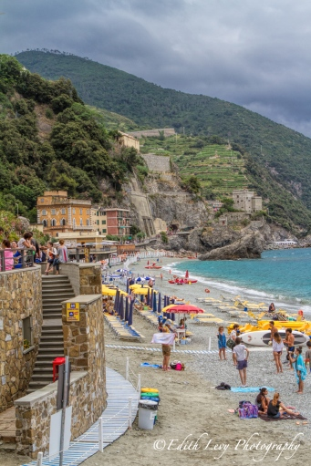 Monterosso, Cinque Terre, Italy, beach, coast, sea, travel photography