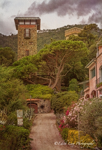 Monterosso, Cinque Terre, Italy, path, mountains, travel photography, fine art photography