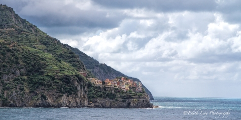 Manarola, Corniglia, Cinque Terre, Italy, village, cliff, sea, landscape, travel photography