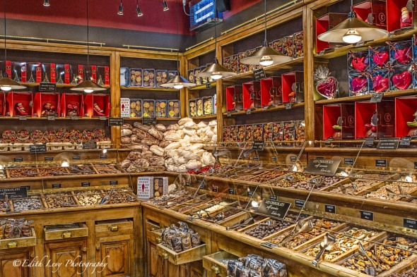 Paris, France, St. Germaine, store, chocolate, candy store, interior, travel