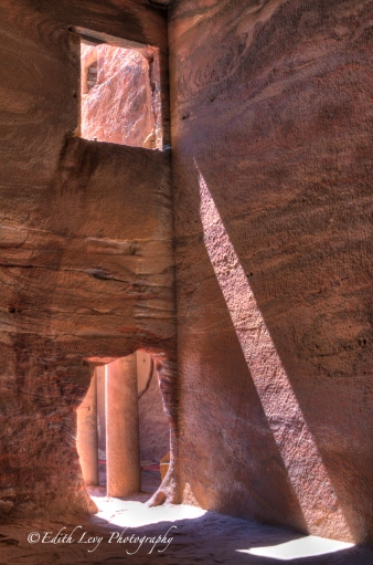 Petra, Jordan, The Treasury, monument, travel, tomb, sunbeam