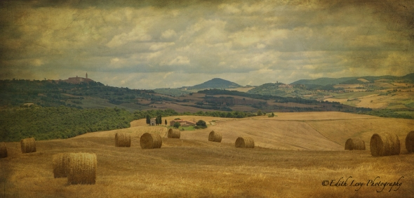 Tuscany, hills, countryside, Montepulciano, travel photography