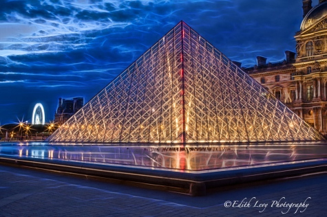 Topaz Glow, Topaz Labs, Paris, Louvre, night photography, long exposure, travel photography