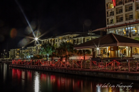 Cuba, Varadero, Melia Marina, Varadero Marina, night photography, lights, travel photography, Christmas lights