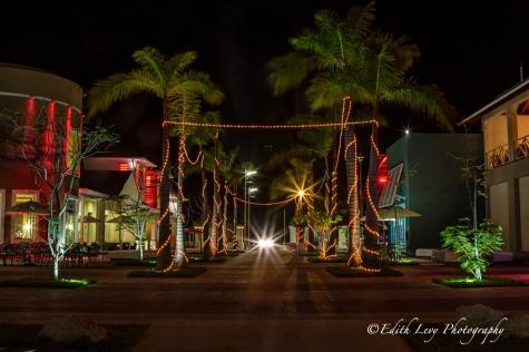 Cuba, Varadero, Melia Marina, Varadero Marina, night photography, lights, travel photography, Christmas lights