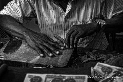 Havana, Cuba, Cuban Cigars, Cigar, Stogie, travel photography, cigar aficiondo, black and white