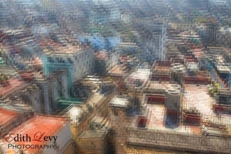 Cuba, havana, multiple exposure, rooftops, travel photography,