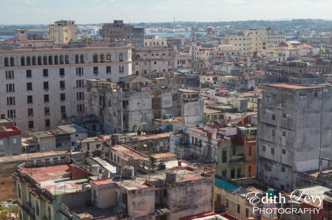 Havana, Cuba, rooftops, cityscape, travel photography