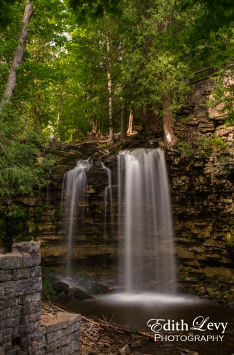 Hilton Falls, Ontario, Milton, conservation, waterfall, long exposure, trees