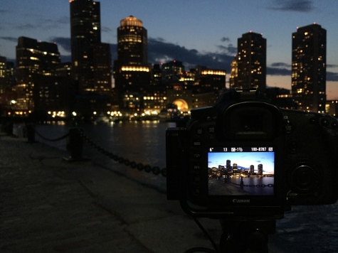 Boston, iPhone, iPhoneography, travel, Fan Pier, skyline, Harbour, Charles River, sunset