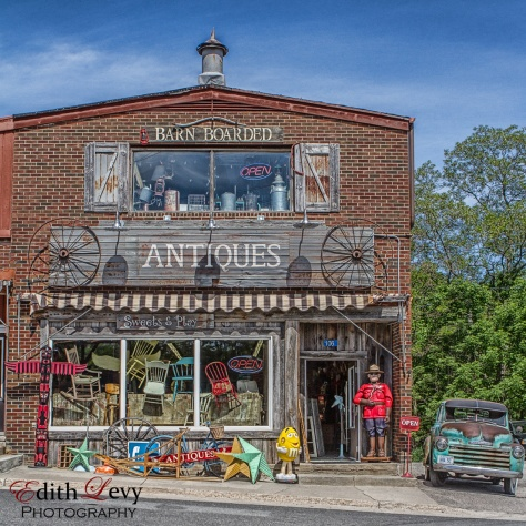 Muskoka, Port Carling, Ontario, Antiques, store, vintage, small town,