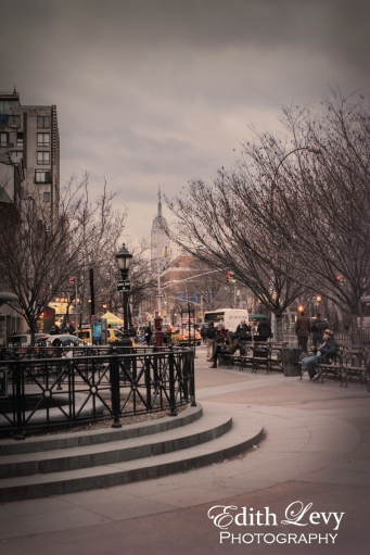 New York, Manhattan, park, square, Greenwich Village,