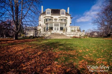 Spadina House, Toronto, architecture, exterior, heritage, Ontario, fall, manor