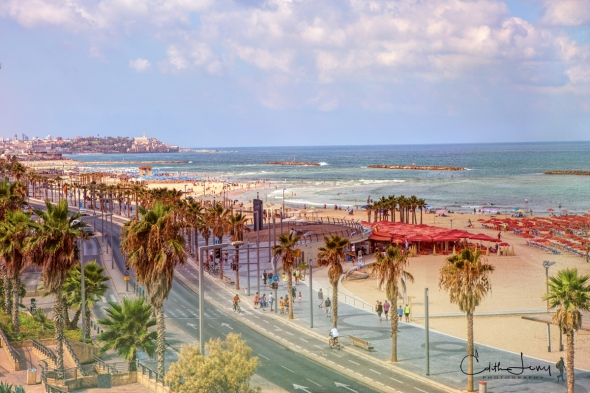 Tel Aviv, Israel, Promenade, Mediterranean, sea, coastline, travel photography, Old Jaffa