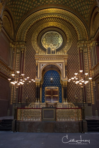 Prague, Czech Republic, Spanish Synagogue, Praha, architecture, Moorish Revival, travel photography