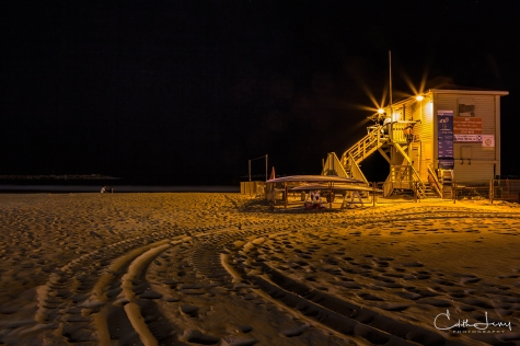 Tel Aviv, Israel, lifeguard station, water, couple, romantic, long exposure, night photography, travel photography