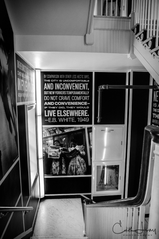 New York, NYC, Museum, Museum of the City of New York, MCNY, Manhattan, black and white, BNW, stairwell, stairway