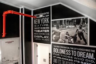 New York, NYC, Museum, Museum of the City of New York, MCNY, Manhattan, monochrome, stairwell, stairway