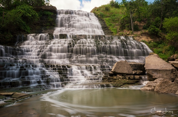 Albion Falls, Hamilton, Ontario, Bruce Trail, waterfall, falls, long exposure