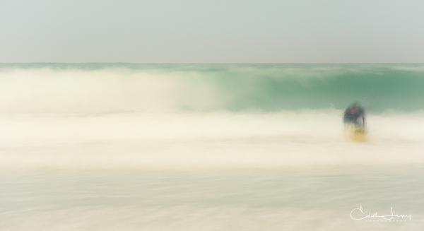 Israel, Tel Aviv, beach, surf, surfing, surfer, long exposure, fine art