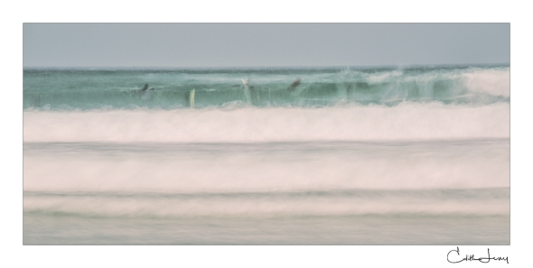 Tel Aviv, Israel, water, sea, wave, long exposure, surfers, surfing, fine art photography