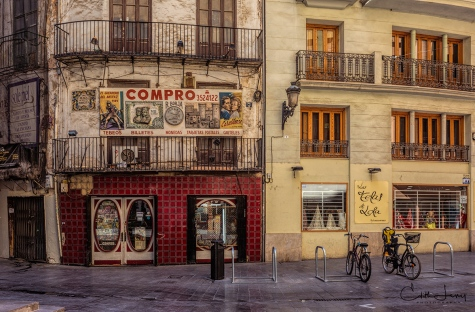 Valencia, Spain, old town, historic, architecture, bicycle