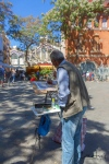 Valencia, Spain, old town, historic, painter, painting,